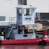 TUG THEODORE at Chincoteague, VA. Operated by Fisher Marine Const, Inc.