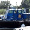 Delaware State Police's latest addition. The former ACE vessel LITHICUM.